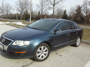 2007 Volkswagen Passat Sedan with Sunroof and leather