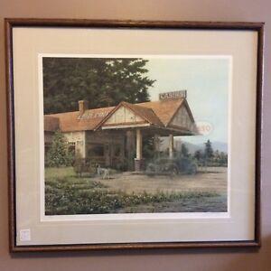 James Lumbers - Lone Pines Print
