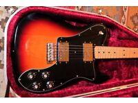 Fender Telecaster Classic Series '72 Telecaster Deluxe inc. Custom Fender Hard case