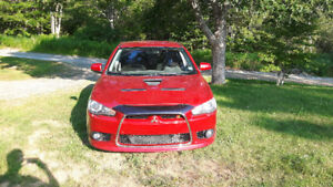 2011 Mitsubishi Lancer Ralliart Sedan