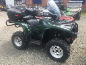 FRESH TRADE IN 2011 YAMAHA GRIZZLY 700EPS $7900.00
