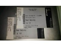 2 tickets for Flaming Lips at Colston Hall, Sunday 13th August