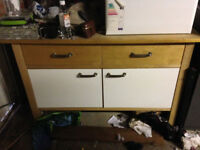 2 Solid Wood IKEA Cupboard Units