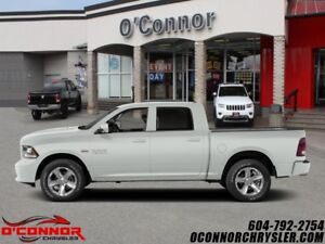 2015 Ram 1500 CREW CAB 1500 SLT 4X4 - 140.5 WB  - local - one ow
