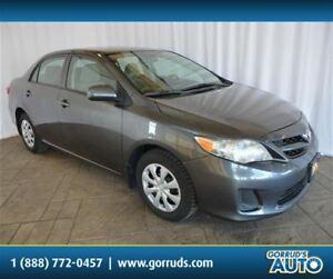 2012 Toyota Corolla CE SEDAN/MANUAL TRANSMISSION/4 NEW TIRES