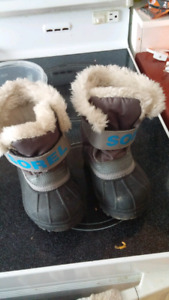 Toddler boys sorel winter boots