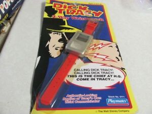 Vintage 1990 Dick Tracy 2-Way Wristwatch Communicator-Playmates