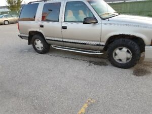 1999 Chevrolet Tahoe AS-IS SALE PRICE IS OBO
