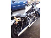 2009 Harley Davidson XL1200 Nightster 4712mls