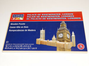 ArtMinds Wooden Puzzle - Palace of Westminster, London