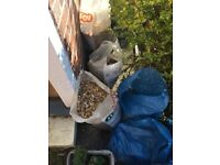 Free used Gravel - enough to cover 15 sq meters