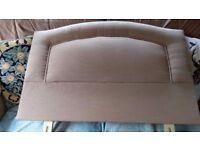 Bespoke single upholstered headboard £20 ono