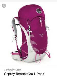 Womens backpack Osprey tempest 30L