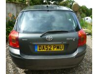 Toyota Corolla for parts or whole car. would be interested in offers please