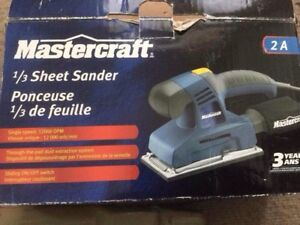 Mastercraft power sander