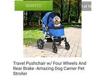 Wanted Dog stroller OR ANY OF THE ITEMS IN PIC'S SEE DESCRIPTION