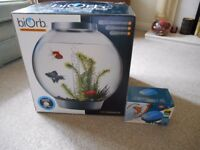 BIORB REEF ONE 30L STANDARD NO LIGHT NEW WITH SUPER FISH BRAND NEW AIR PUMP FISH
