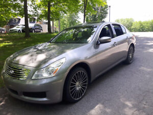 2009 Infiniti G37x AWD Luxury Premium Berline