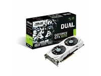 Asus GEFORCE GTX 1070 GPU Graphics Card