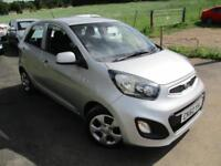 2012 KIA PICANTO 1 AIR HATCHBACK PETROL