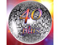 40plus discoers - social group aimed at the over 40s who love dancing and socialising