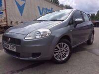 08 plate - Fiat punto grande - 8 months mot - 5 door - 1.2 petrol - warranted low 68K on clock