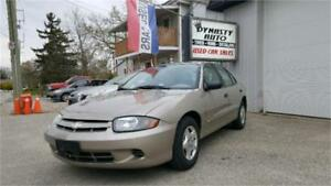 2004 Chevrolet Cavalier / CERTIFIED / DYNASTY AUTO