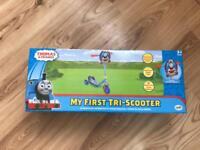 Brand new Thomas the tank engine scooter