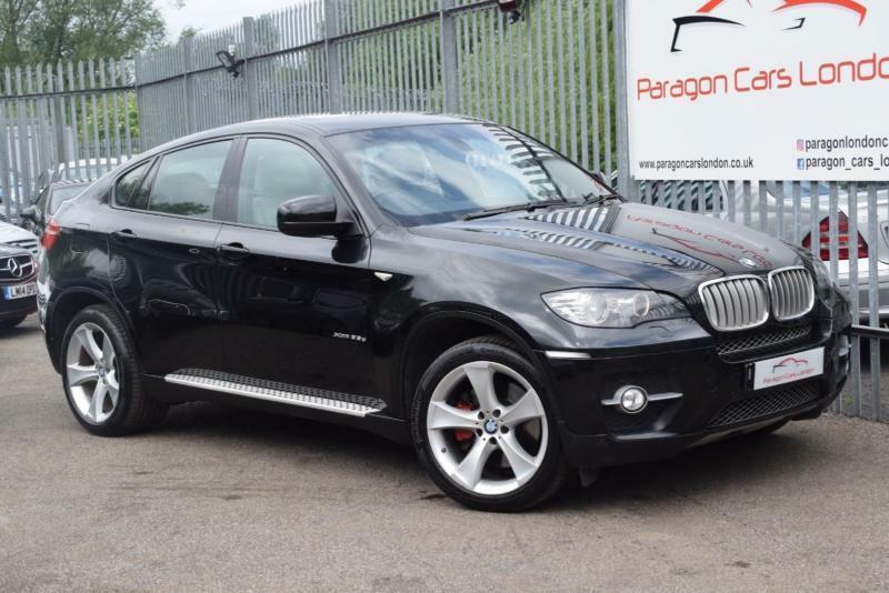 2008 bmw x6 xdrive35 286 step auto6 diesel black automatic in watford hertfordshire. Black Bedroom Furniture Sets. Home Design Ideas