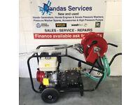 Honda GX390 Petrol Pressure Washer - Interpump WS201 Gearbox Pump 200 bar - 15LPM - Leyland Lancs