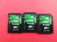 Kingstion 16 GB SDHC Memory Cards