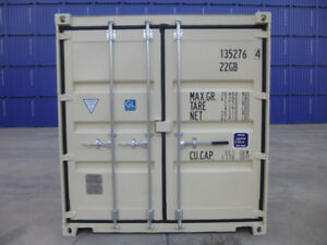 NEW 20' One-Trip Containers for SALE!!