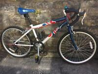 "Kids 24"" wheel team GB road bike"