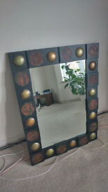 Lovely old style mirror