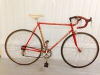 Superia 10 speed Index 60 cm Lightweight Classic Belgian Road Bike Beautiful Lugs