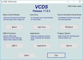 VCDS VAG COM Diagnostic Service VW SEAT SKODA AUDI