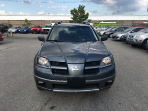 2004 Mitsubishi Outlander.CERTIFIED,ETESTED,WARRANTY,NO ACCIDENT
