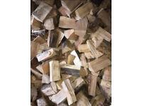 Hardwood logs kiln dried delivered