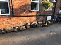 40 Ornamental Garden Rockery Stones for Garden / Pond / Wall
