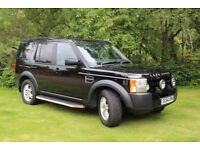 Landrover Discovery 3 2.7S, manual, 7 seater