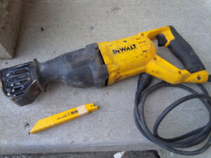 dewalt recipricating saw