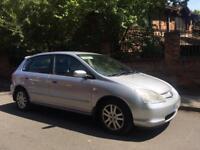 2002 Honda Civic 1.6 12 Months Mot 2 Keys Reliable Car