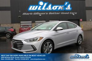 2017 Hyundai Elantra GLS SUNROOF! HEATED FRONT+REAR SEATS! REAR