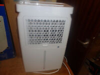 vax 16l dehumidifier as new but lcd display bulb gone and box tatty due to postal return