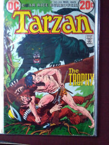 "Tarzan DC #218 - (Vol. 26) - ""Beyond the Furthest Star"" ends"
