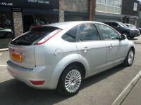 2010 Ford Focus 1.6TDCi 110 ( DPF ) Titanium 5DR 10REG Diesel Silver