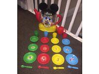 Kids Mickey Mouse tea party set