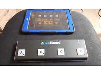 IK Multimedia IRIG BlueBoard Bluetooth Midi Foot Controller