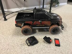 New bright RAM remote control truck. Large