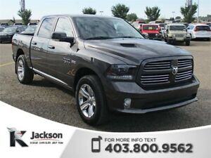 2015 Ram 1500 Sport 4WD - Heated/Ventilated Leather, Sunroof